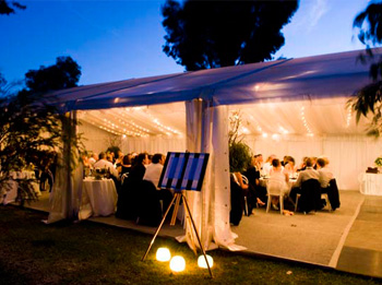 Chatsworth marquee hire